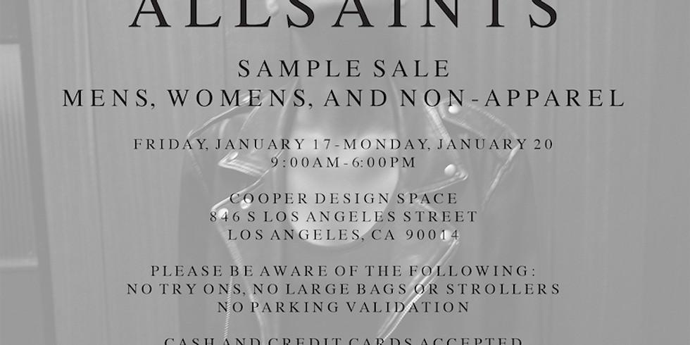 AllSaints Sample Sale