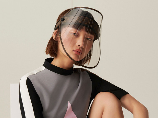 Luxury PPE: Louis Vuitton Launches Monogrammed Covid-19 Face Shields