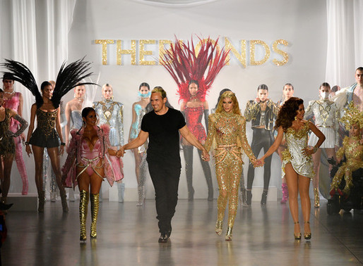 Lisa Rinna at The Blonds NYFW 2020 Runway Show