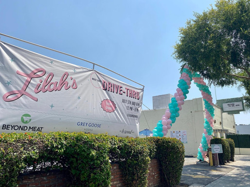 Hollywood Supper Club Delilah Evolves to Day Time 50's Style Pop-Up Drive Thru 'Lilah's Diner'