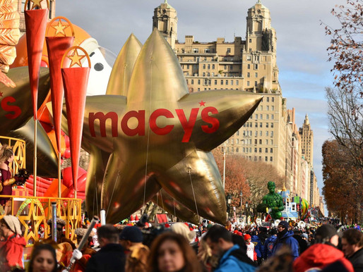 Bradley Cooper at the Macy's Thanksgiving Day Parade - New York