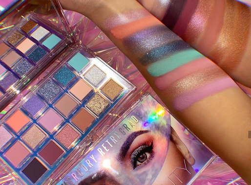 Huda Beauty's Mercury Retrograde Palette now at Sephora stores and online
