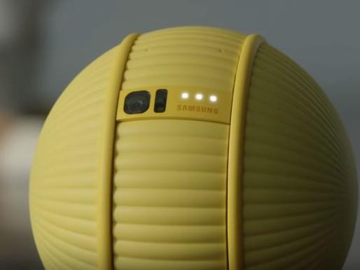 "Samsung Unveils ""Ballie"" a New Future Robot Companion"
