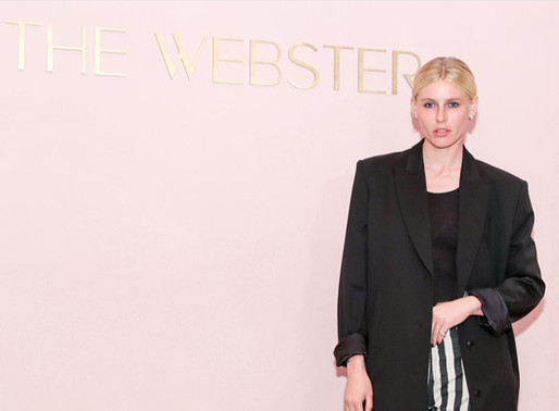 Model /Advocate Lauren Wasser at The Grand Opening of The Webster - Los Angeles