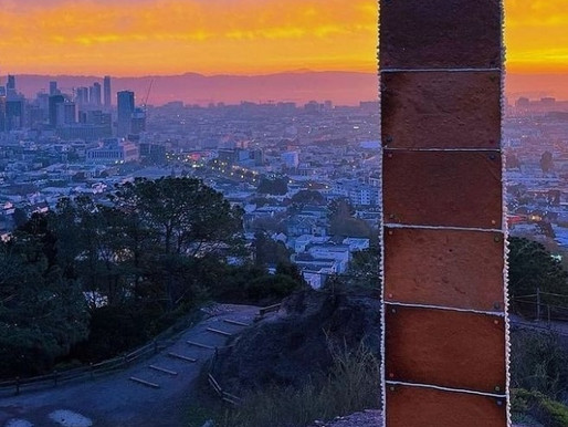 """Mysterious Gingerbread Monolith Located At Corona Heights Park Is """"Gone-olith"""" - San Francisco"""