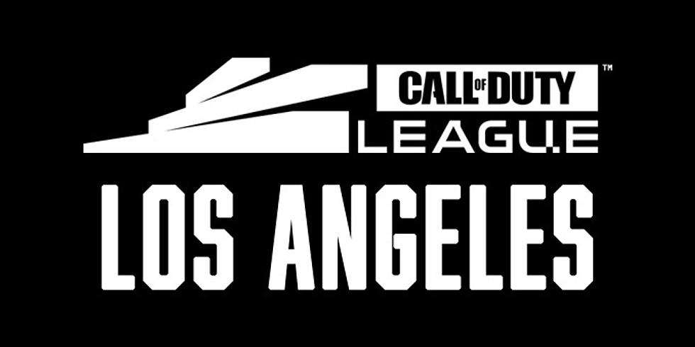 Calendar Ticket Info General Info Rental Info History CALL OF DUTY LEAGUE: LOS ANGELES HOME SERIES