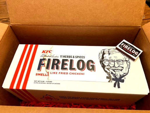We Tried Out KFC's Firelog and Here's What Happened -Read Here!