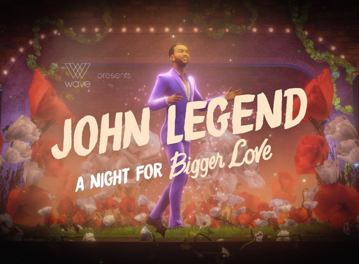John Legend Sings Songs from New Album 'Better Love' to Virtual Audience via Wave