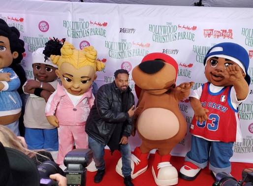 """""""Shawn Wayans and The Boo Crew""""attend the 88th Annual Hollywood Christmas Parade"""