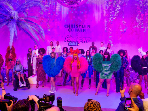 Inside Christian Cowan x The Powerpuff Girls Season II Runway Show - West Hollywood