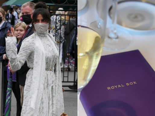 Priyanka Chopra Attends Women's Final In Style at Wimbledon 2021 #Royalbox