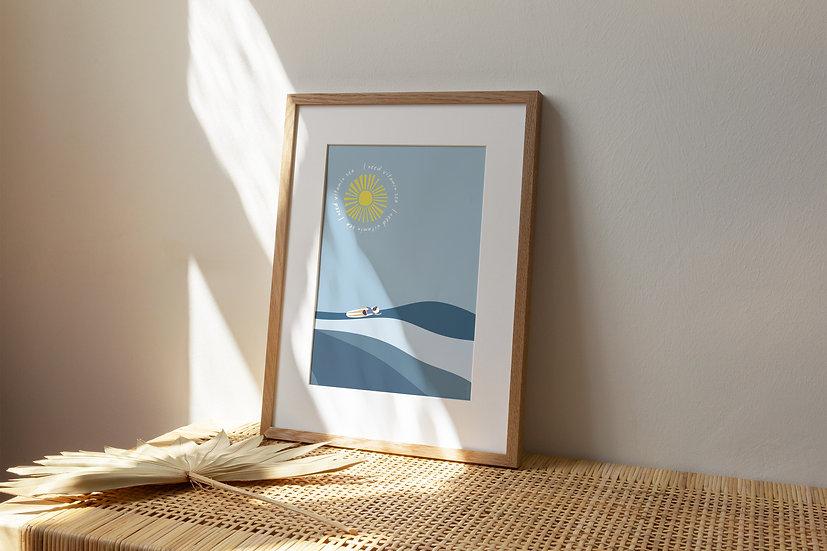 Vitamin Sea A4 Print