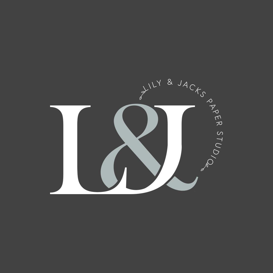Lily and Jacks Paper Studio Logo