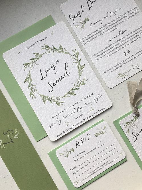 Olea Wedding Invitation