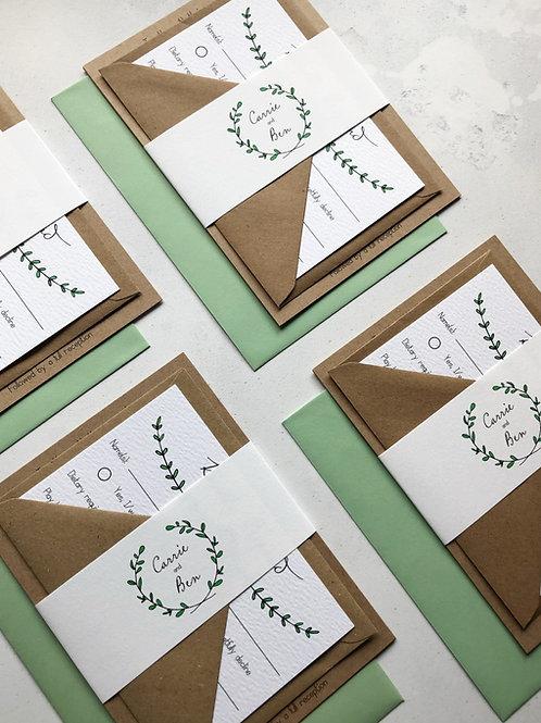 Pine Forest Invitation Bundle