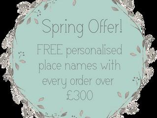 Spring Offer!