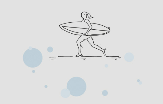 Surf Illustration
