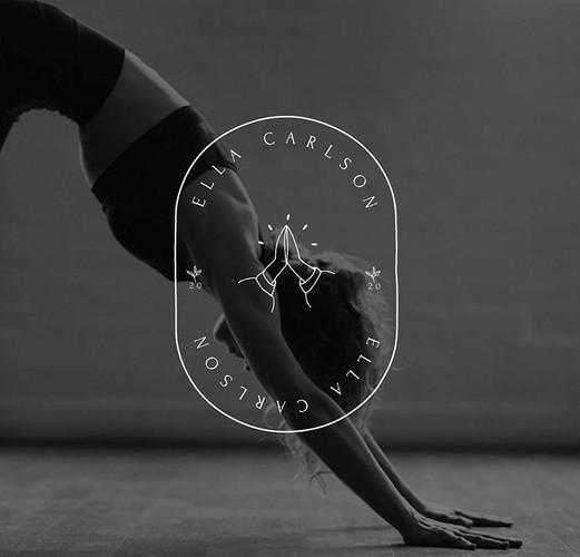 Ella Carlson Yoga Logo