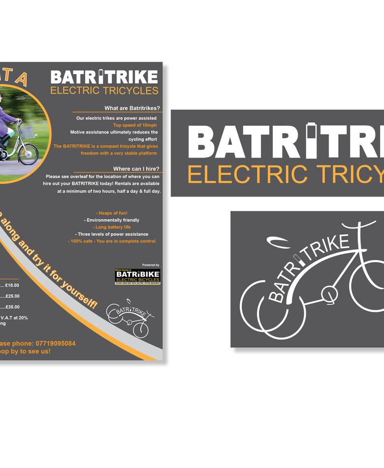 Batritrike Logo & Stationery