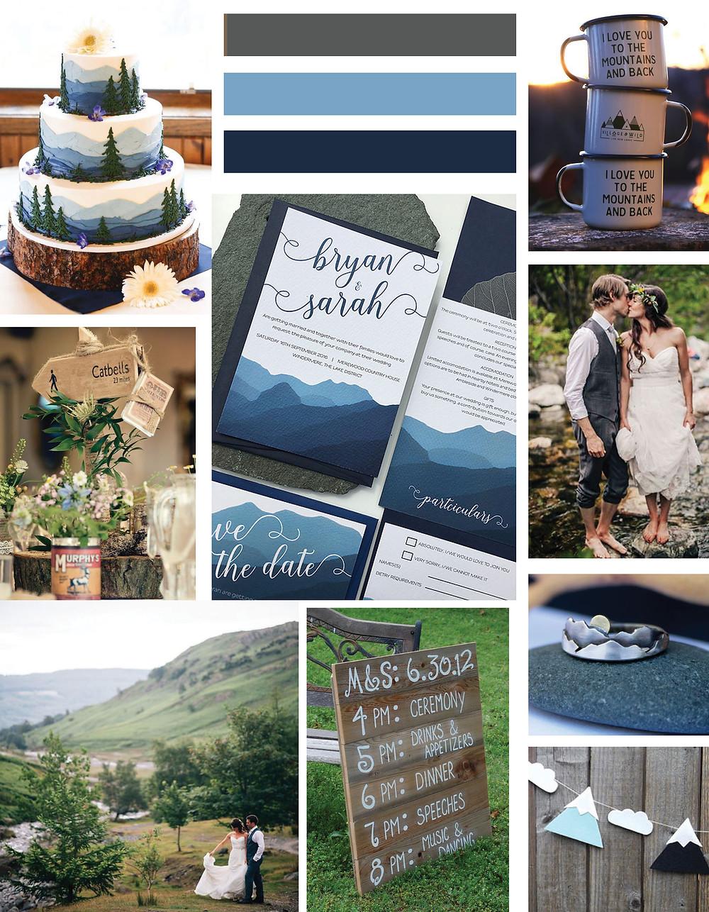 Langdale Wedding Invitation