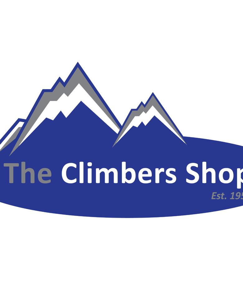 The Climbers Shop Logo Design