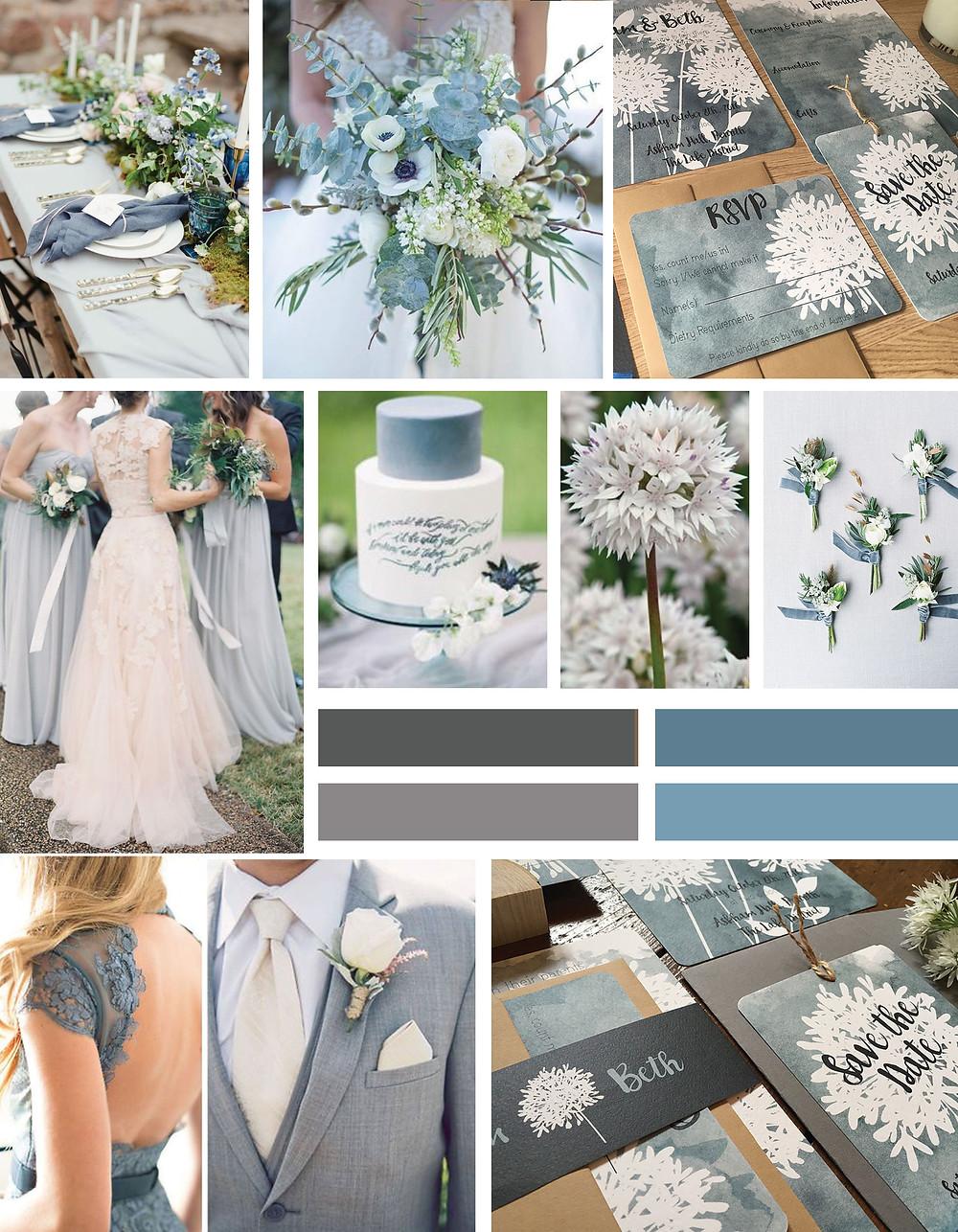 Allium Wedding Invitation