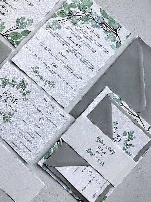 Eucalyptus Invitation Bundle