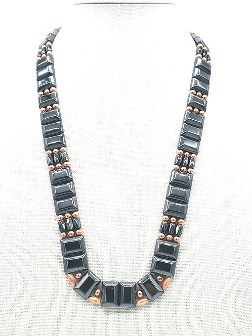 MAGNETIC COPPER PHAROES NECKLACE