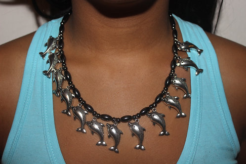 13 DOLPHIN NECKLACE