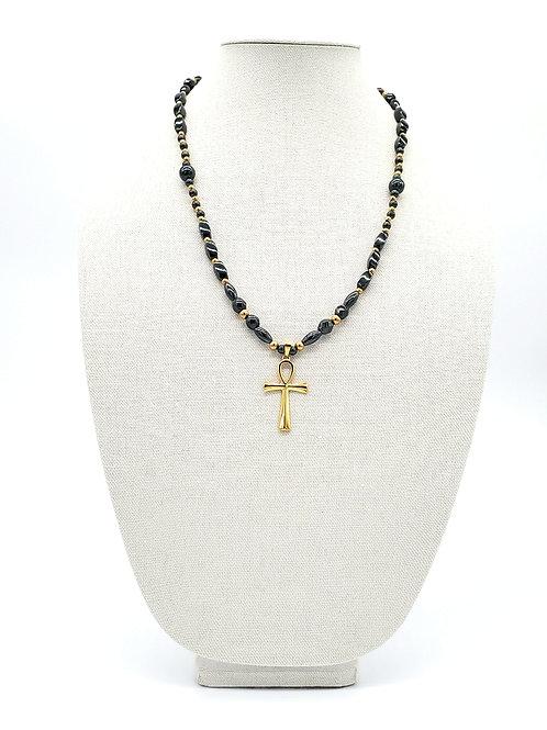 Golden Ankh Necklace
