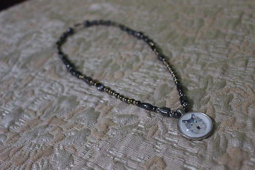 ALPHA WOLF NECKLACE (ONLY 1 AVAILABLE)