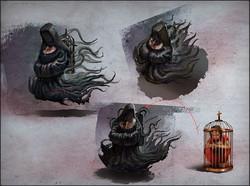 Evil nun development