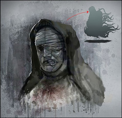 Evil nun face