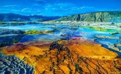 Yellowstone National Park,  Mammoth Hot