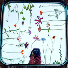 Wildflower mirror ready to resin! _#pres