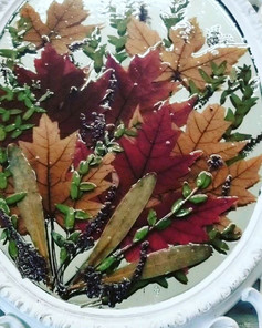 Falling leaves 🍁__#pressedbyag #pressed