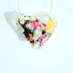 💟 #pressedbyag #pressedflowers #resinje