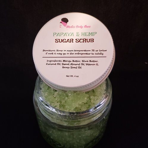 Papaya Sugar Scrub