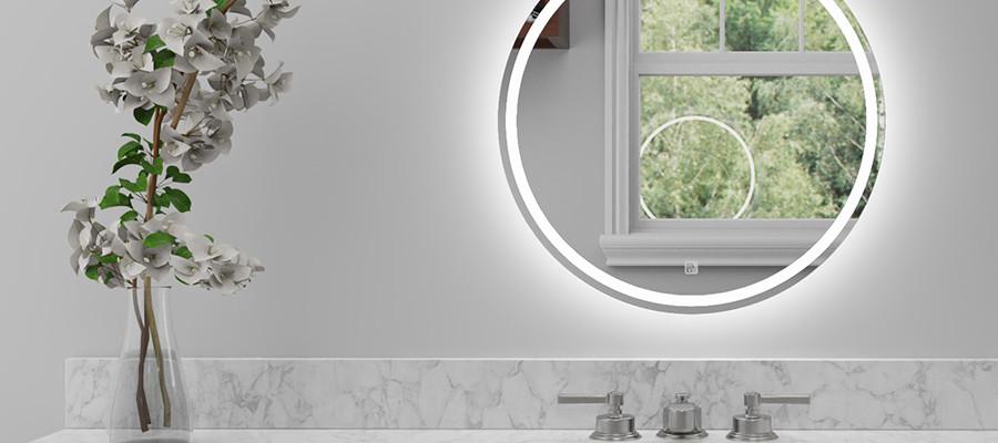 LED Mirror Round 04