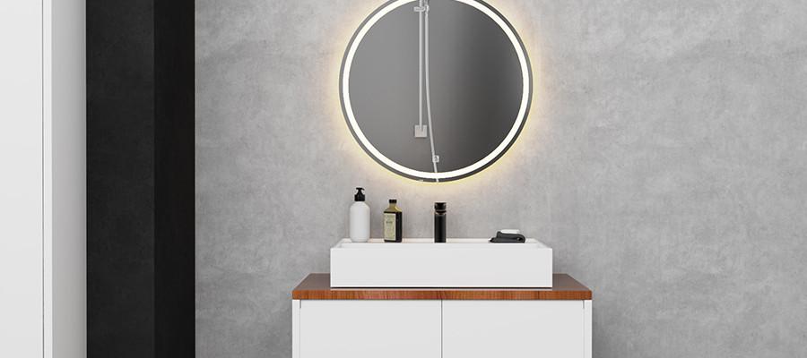 LED Mirror Round 05