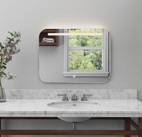 LED Mirror Square 01