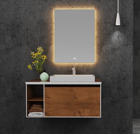 LED Mirror Rectangle 05