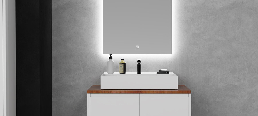 LED Mirror Rectangle 0