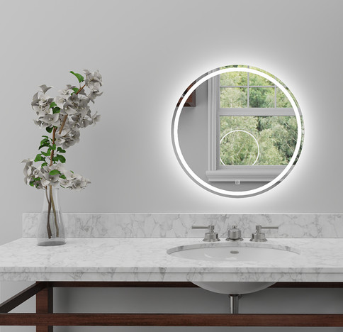 LED Mirror Round 01