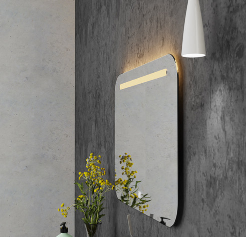 LED Mirror Square 05