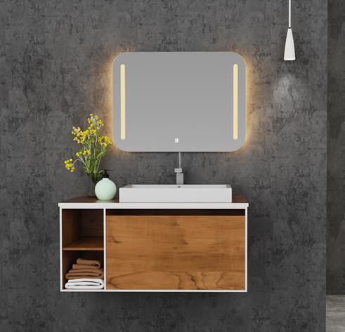 LED Mirror Square 03