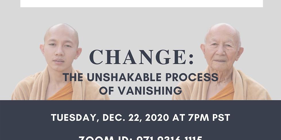 Lewis Lancaster   Change: The Unshakable Process of Vanishing