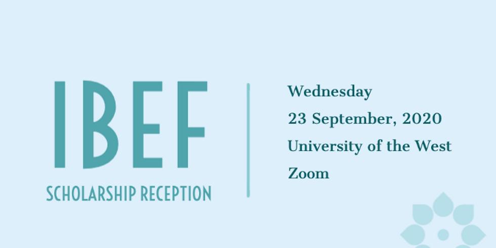 2020-2021 IBEF Scholarship Reception