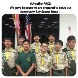 Thank you Troop 1 for your support!