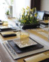 テーブルコーディネート・菜花色のおもてなし